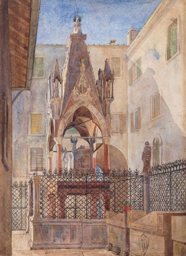 AITCHISON George R.A. P.R.I.B.A. (1825-1910) - Tombs of the Scaglieri, Verona.