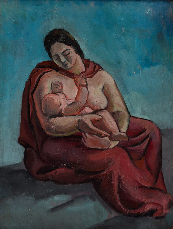 ALDRIDGE John R.A. (1905-1983) - Madonna and Child.