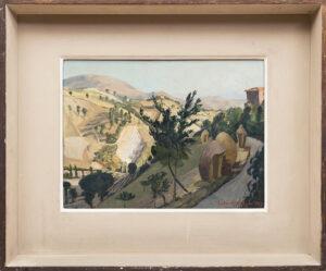 ALDRIDGE John R.A. (1905-1983) - 'On the Outskirts of Urbino'.