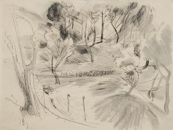 ALDRIDGE John R.A. (1905-1983) - Landscape study, Deya, Majorca.