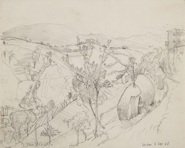 ALDRIDGE John R.A. (1905-1983) - 'Urbino'.