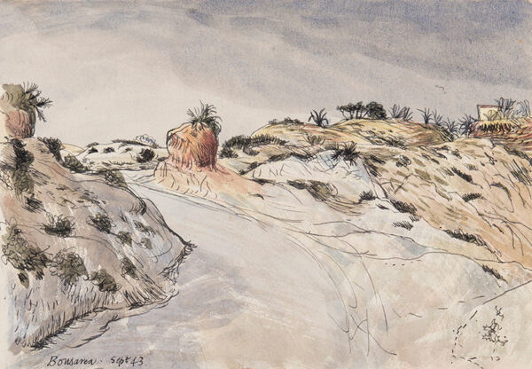 ALDRIDGE John R.A. (1905-1983) - 'Bousarea (sic: Bouzareah), Algeria.