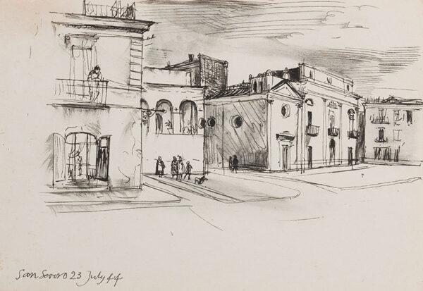 ALDRIDGE John R.A. (1905-1983) - Apulia, San Severo.