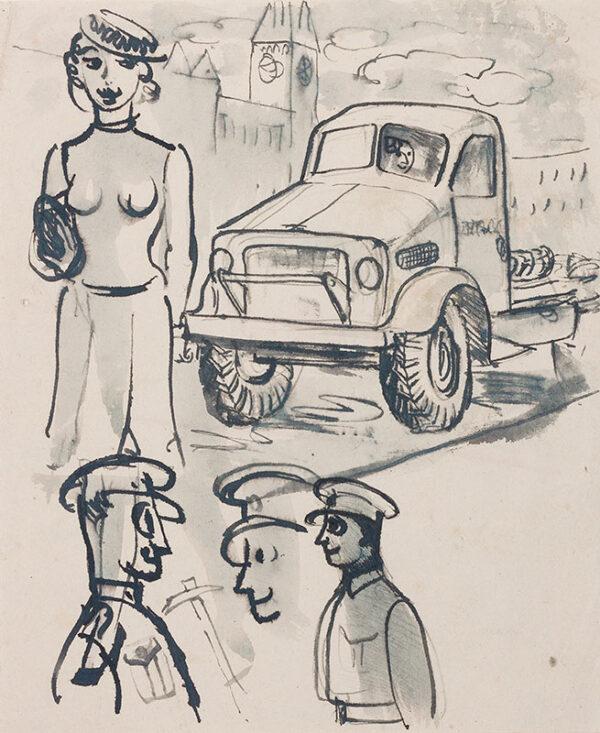ALDRIDGE John R.A. (1905-1983) - Training.