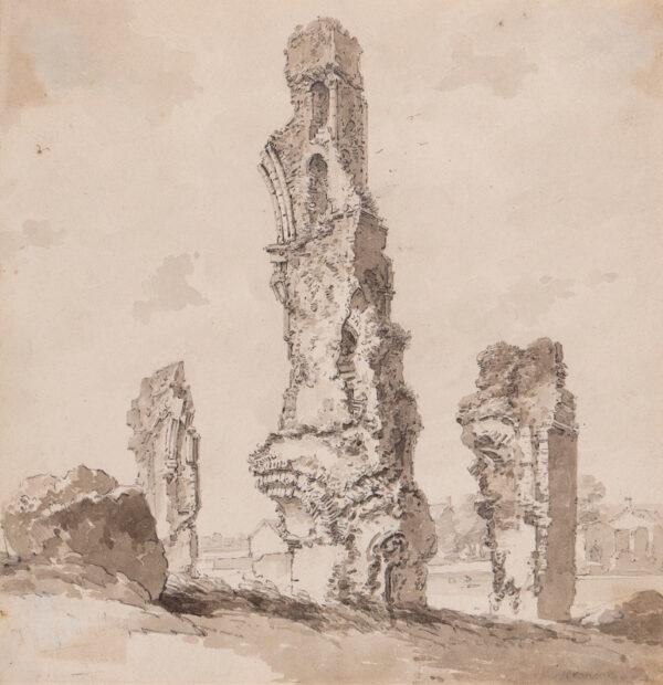 ALEXANDER William (1767-1816) - Thetford Abbey.