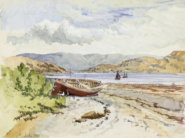 ALLAN Robert Weir R.W.S. (1851-1942) - 'Tighnabruaich', Kyles of Bute.