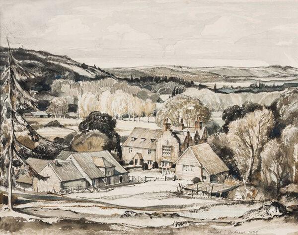 ANDREWS Douglas Sharpus SGA (1885-1944) - Yorkshire Farm.