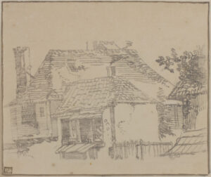 ANON (Eighteenth Century) - Transfer drawing.