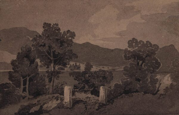 COTMAN John Sell O.W.S. (1782-1842) (Circle of) - Landscape, possibly in the Lakes.