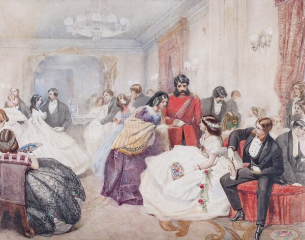 LAMI Eugene (1800-1890) (Follower of). - A ballroom scene.