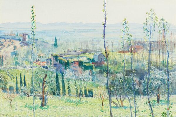 APPERLEY George Owen Wynne R.I. R.A. (1884-1960) - Granada: Spring.