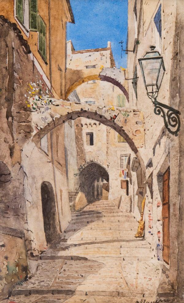 APPERLEY George Owen Wynne R.I. R.A. (1884-1960) - 'San Remo'.