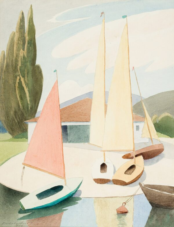 ARBUTHNOT Malcolm R.I. N.S. (1874-1967) - 'Sailing dinghies'.