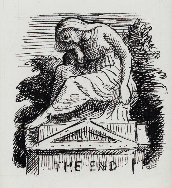 ARDIZZONE Edward C.B.E. R.A. (1900-1979) - 'The End'.