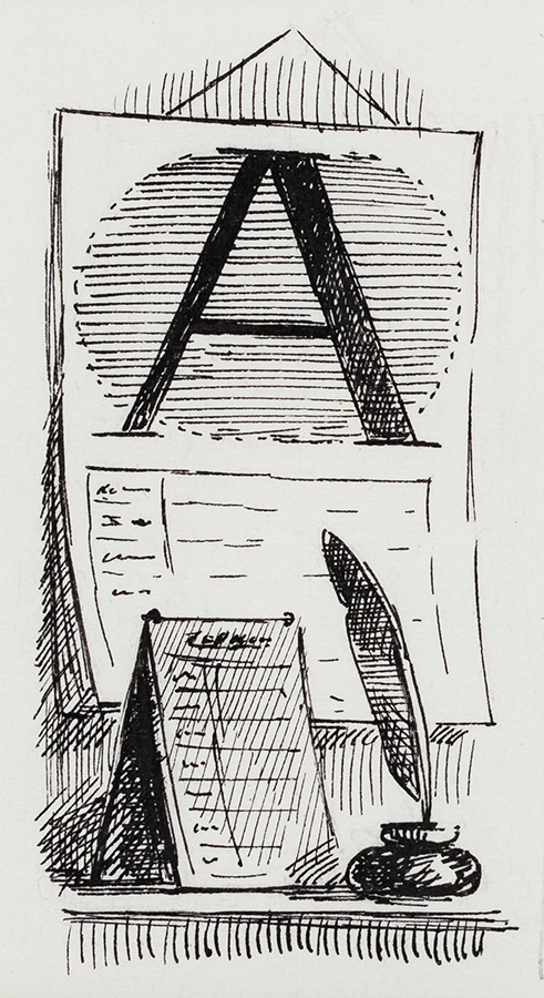 ARDIZZONE Edward C.B.E. R.A. (1900-1979) - 'A' – 'The Pleasure of Whitaker'.