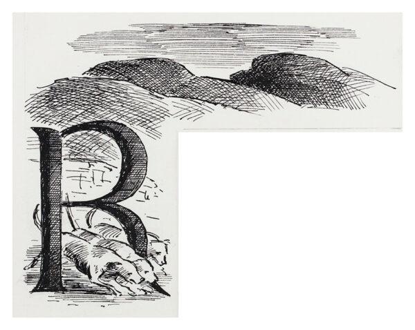 ARDIZZONE Edward C.B.E. R.A. (1900-1979) - 'R' – 'Hound Trail'.