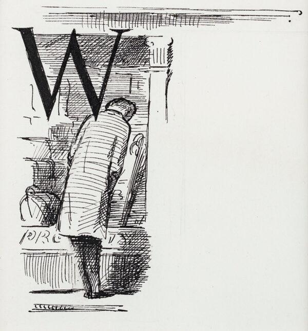 ARDIZZONE Edward C.B.E. R.A. (1900-1979) - 'W' – 'Lost!'.