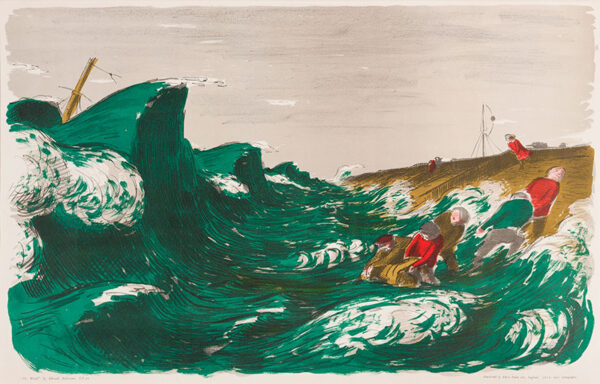 ARDIZZONE Edward C.B.E. R.A. (1900-1979) - 'The Wreck'.