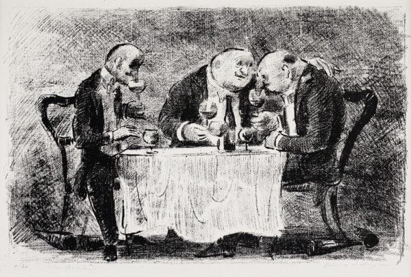 ARDIZZONE Edward C.B.E. R.A. (1900-1979) - 'The Drinkers'.