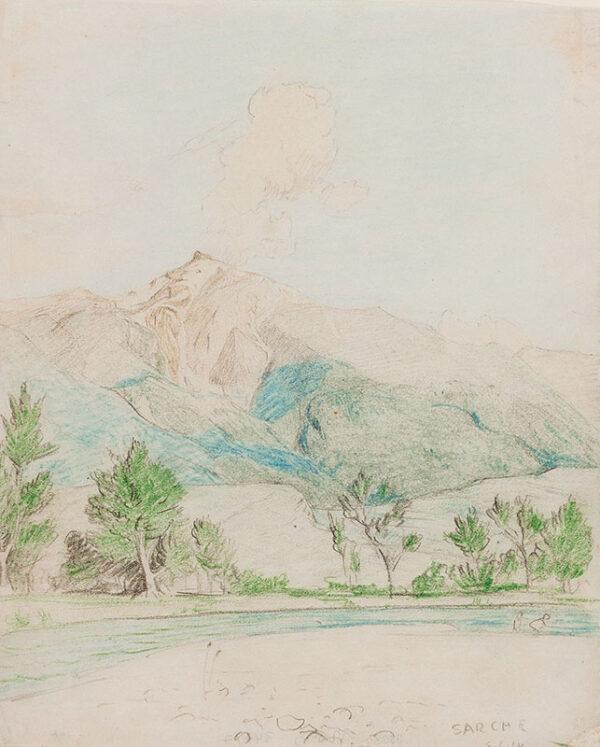 ARMFIELD Maxwell Ashby (1881-1972) - 'Sarche'.