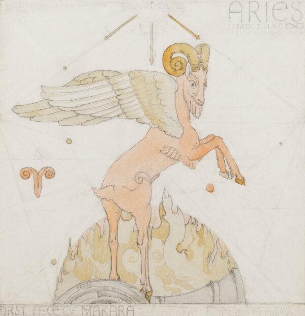 ARMFIELD Maxwell Ashby (1881-1972) - 'Aries'.