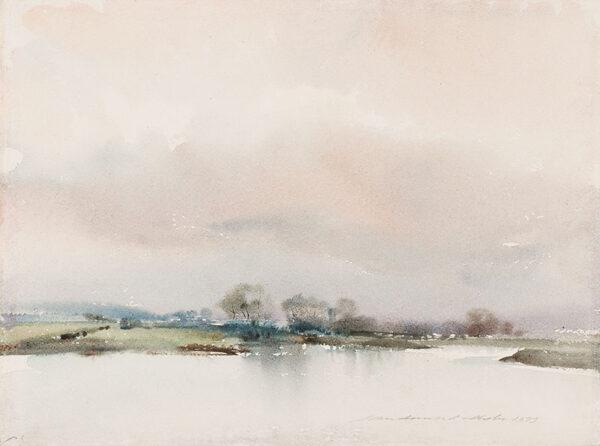 ARMOUR-CHELU Ian (1928-2000) - Suffolk landscape.