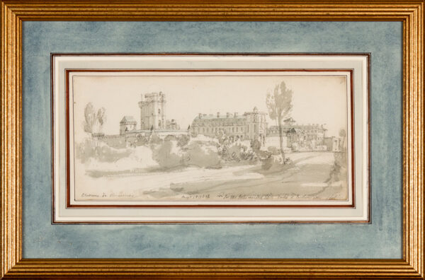 ARNALD George A.R.A. (1763-1841) - 'Chateau de Vincennes'.