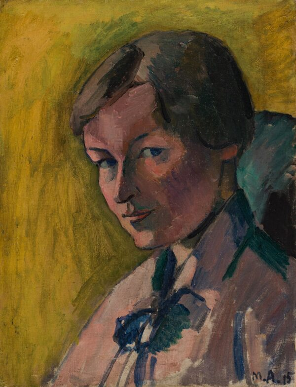 ASSELIN Maurice (1882-1947) - 'Enid Bagnold / Age c.
