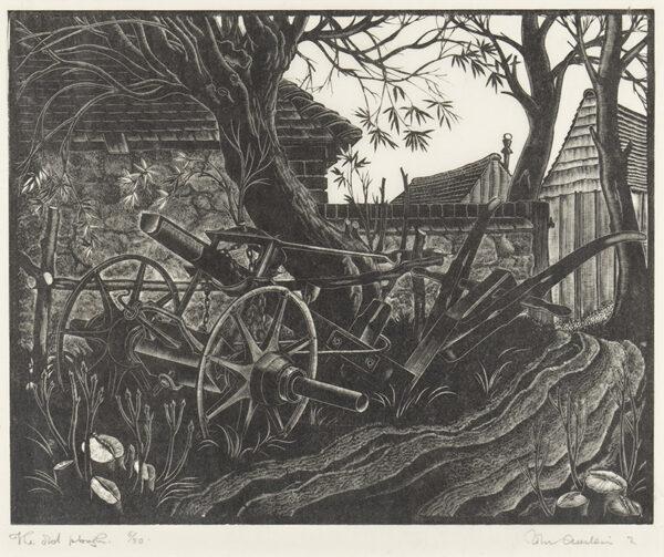 AUSTEN John (1886-1948) - 'The Old Plough'.