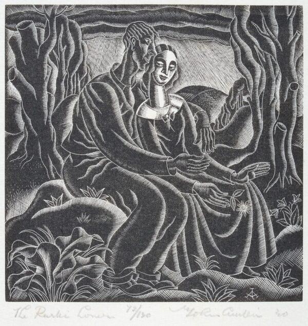 AUSTEN John (1886-1948) - 'The Rustic Lover'.