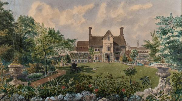 AUSTIN William Frederick (1833-1899) - Norfolk: The Hermitage, Bishopsgate, Norwich.