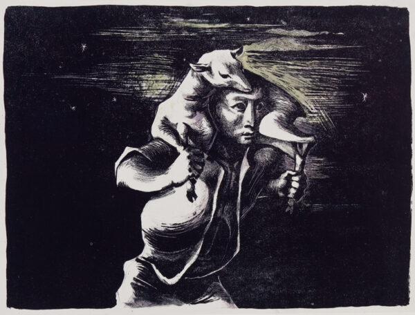 AYRTON Michael (1921-1975) - The Goatherd.