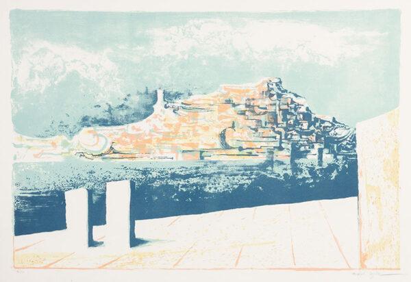 AYRTON Michael (1921-1975) - 'Attic Port, Corinth' ; 1 of The Greek Suite.