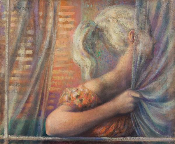 AYRTON Michael (1921-1975) - Girl at a window.
