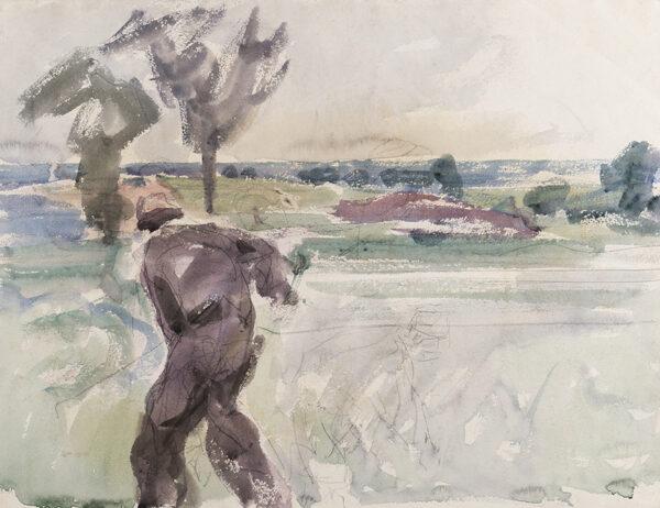 BECKER Harry (1865-1928) - Suffolk: The Land.