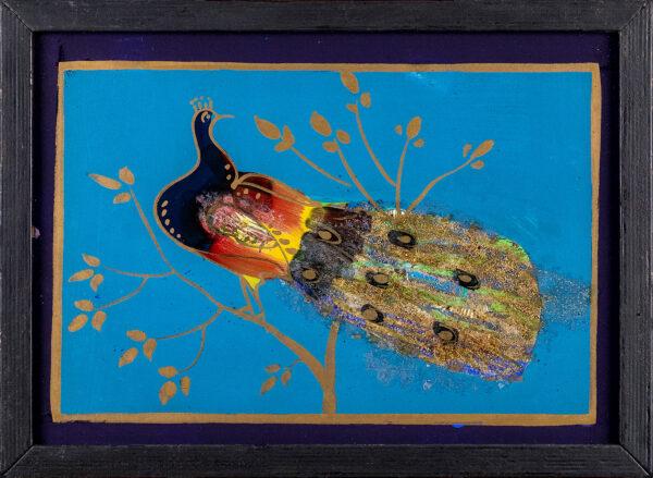 BAKST Leon (1866-1924) (Circle of) - 'The Muscovite Peacock'.