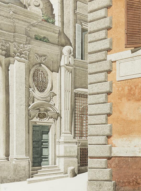 BANKS Robert R.I.B.A. (1911-2000) - Santa Maria dell'Orazione e Morte, Rome.