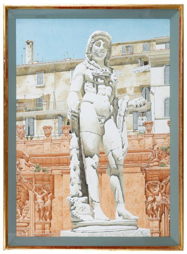 BANKS Robert R.I.B.A. (1911-2000) - 'Hercules', Palazzo Borghese, Rome.