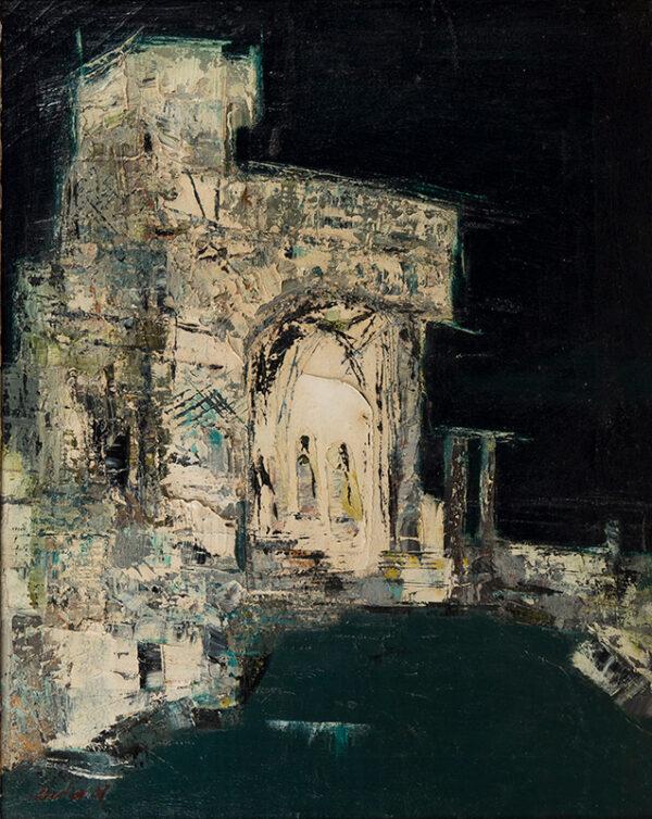 BARKER Kit (1916-1988) - 'Hadrian's Villa, Tivoli'.