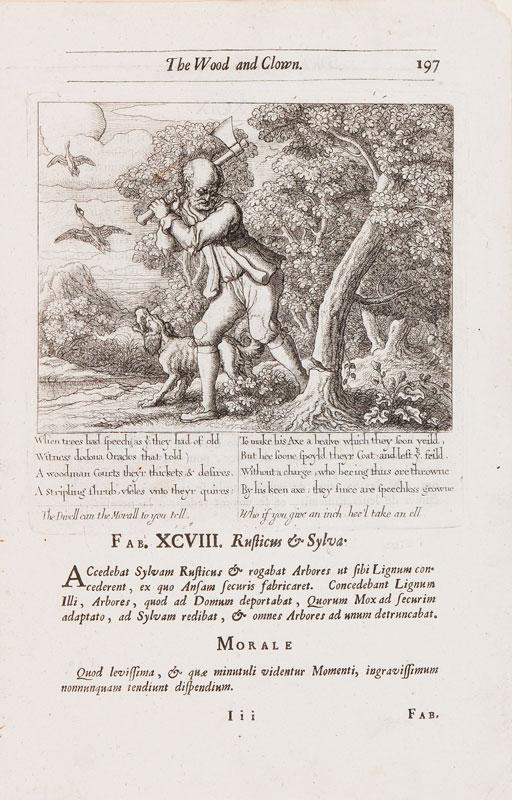 Francis BARLOW (c.1626-1704) - 'The Wood and Clown'.
