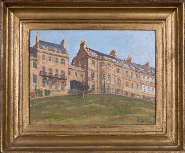 BARROW Julian (1939-2013) - 'Lansdown Crescent', Bath.