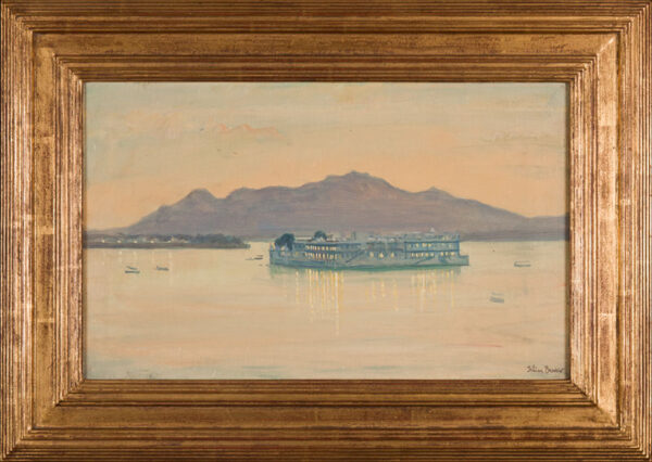 BARROW Julian (1939-2013) - Lake Palace Hotel, Udaipur.