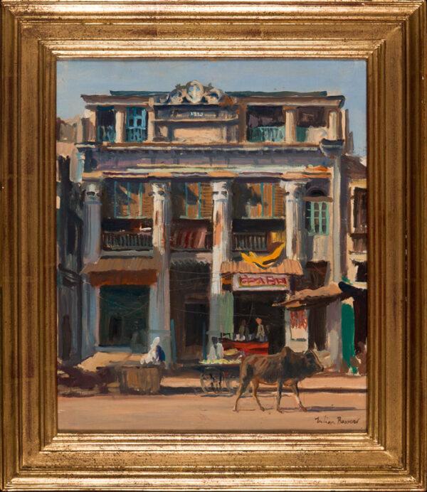 BARROW Julian (1939-2013) - Hotel Vijay, Varanasi.