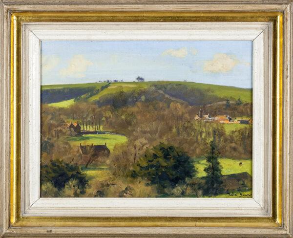 BARROW Julian (1939-2013) - Dorset landscape.