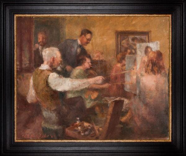 BATCHELOR Roland R.W.S. (1889-1990) - The Art Class.