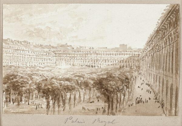 BATTY Lieutenant-Colonel RobertF.R.S. (1789-1848) - 'Palais Royale', Paris.