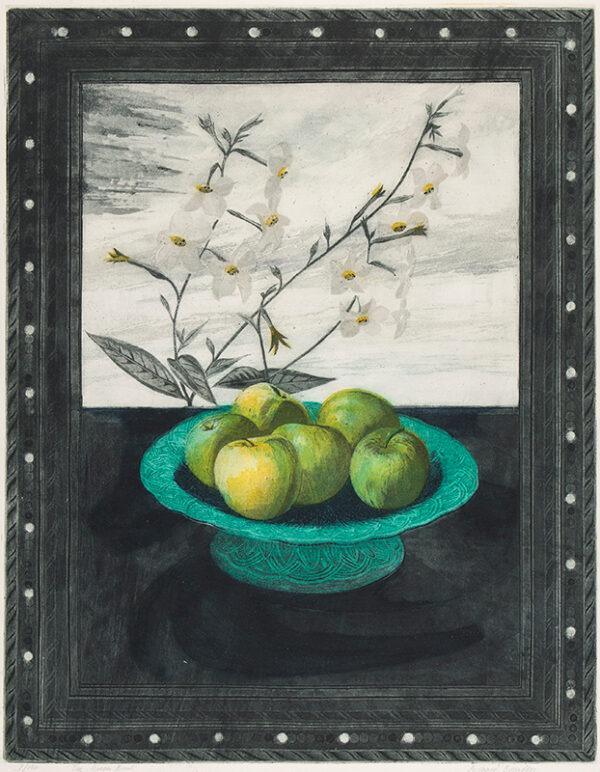 BAWDEN Richard R.W.S. N.E.A.C. R.E. (b.1936) - 'The Green Bowl'.
