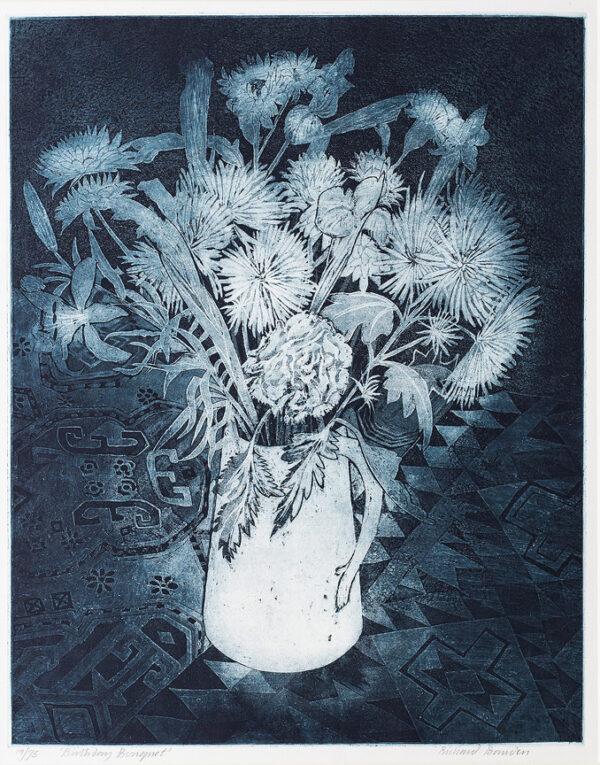 BAWDEN Richard R.W.S. N.E.A.C. R.E. (b.1936) - 'Birthday Bouquet'.