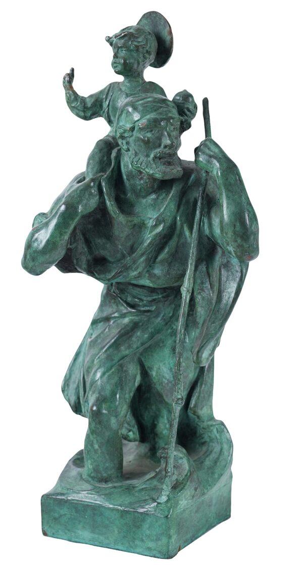 BAYES Gilbert (1872-1953) - 'St Christopher'.