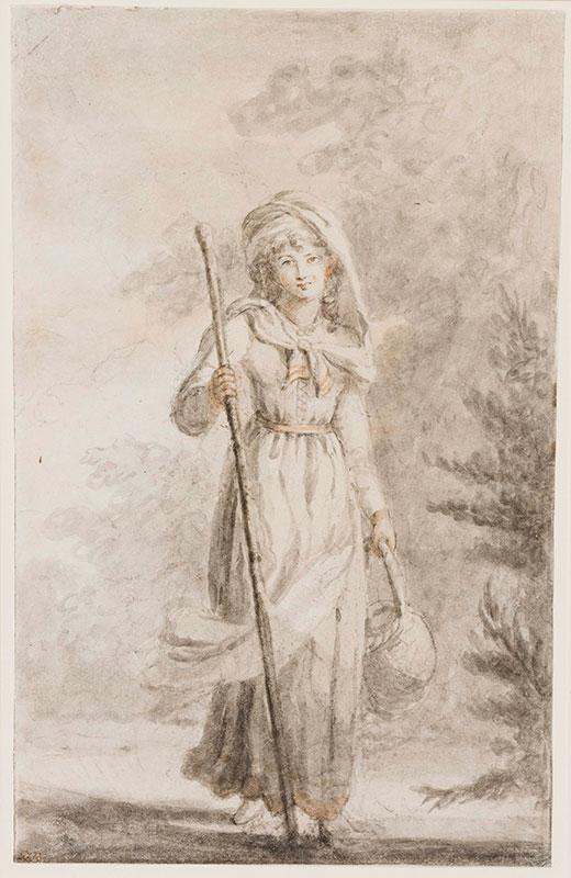 BEAUCLERK Lady Diana (1734-1808) - A Fancy subject.